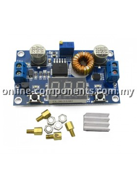 DC/DC Step Down Converter 5A with 3-digits LED
