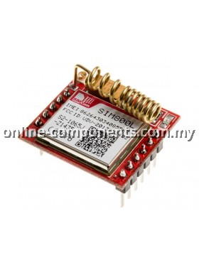 GSM/ GPRS QUAD Band SIM800L Module with SIM Card Holder