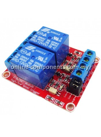 Relay Module 2CH with H/L Selection