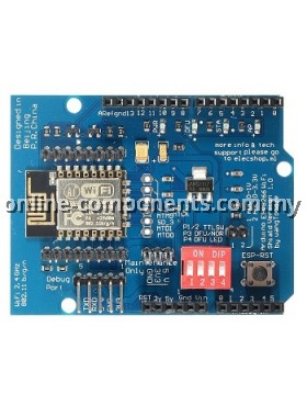 WIFI ESP8266 Shield for Arduino UNO