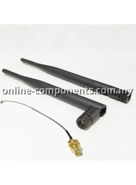 Antenna 2.4G with IPEX to SMA Cable Set