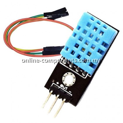 DHT11 TEMPERATURE & HUMIDITY MODULE