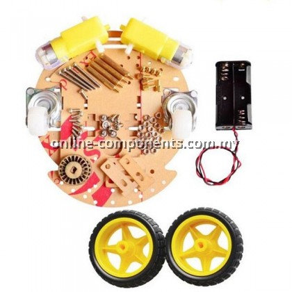 CHASSIS 2 WHEELS WITH DECODER AND CASTOR